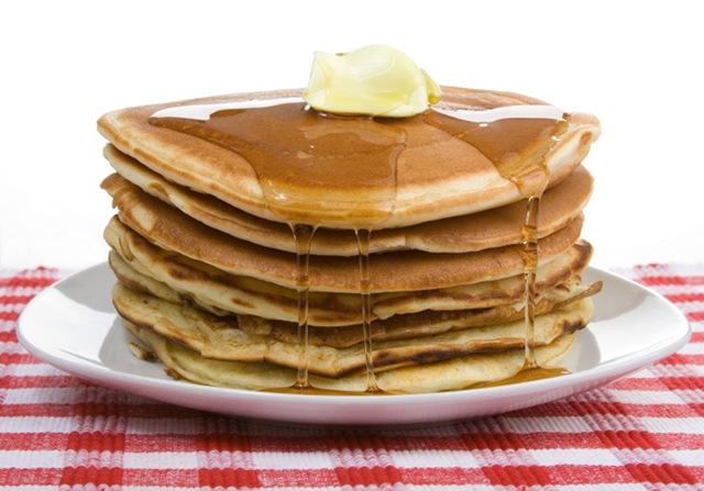 fullstack of pancakes